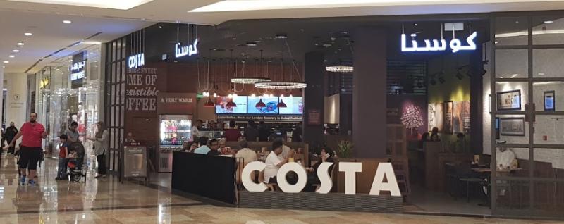 Costa Coffee Dubai Festival City Mall Festival City Discover The Best Deals Across Your City